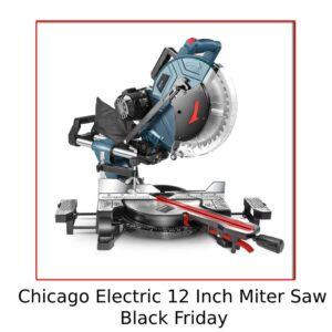 Chicago Electric 12-Inch Miter Saw